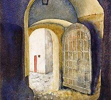 Castle Doorway, Salzburg by Joe Cartwright