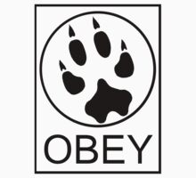 Furry Propaganda : OBEY Kids Tee