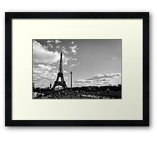 Paris - Eiffel Tower  Framed Print