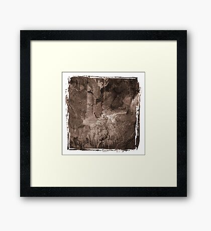 The Atlas of Dreams - Plate 6 Framed Print