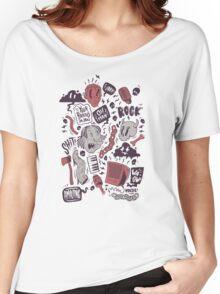 Rock, Shit Women's Relaxed Fit T-Shirt