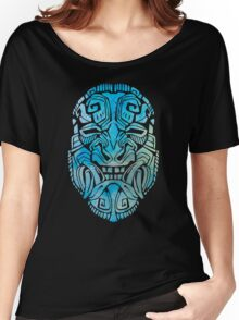 Mesoamerica Mask Watercolor Women's Relaxed Fit T-Shirt