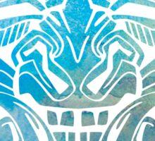 Mesoamerica Mask Watercolor Sticker