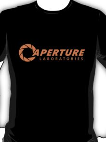 Aperture Science / Aperture Laboratories | Orange T-Shirt
