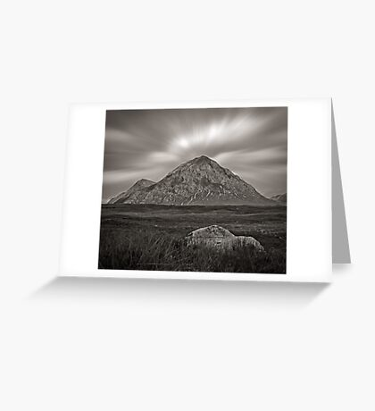 Echoes of Mountain-ness Greeting Card