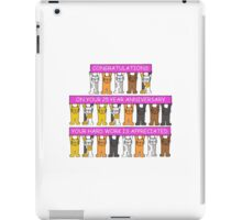 Congratulations on your 25 year anniversary your hard work is appreciated. iPad Case/Skin