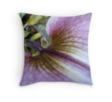Orchid Valley Throw Pillow