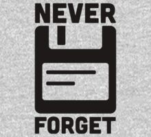Never Forget Floppy Disk  by quarantine81