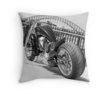 Batman Custom Chopper II Throw Pillow