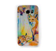 Colourful Fox  Samsung Galaxy Case/Skin