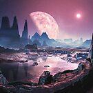 Planet Iridium at Noon by SpinningAngel