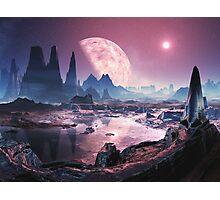 Planet Iridium at Noon Photographic Print
