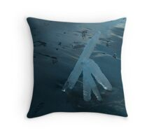 Ice Fire Throw Pillow