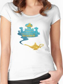 A Whole New World - Aladdin Women's Fitted Scoop T-Shirt
