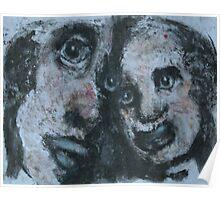 Faces-Bernard Lacoque-50 Poster