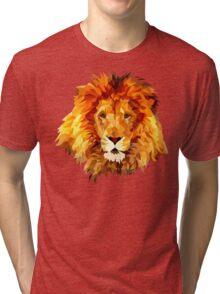Low Poly Lion Tri-blend T-Shirt