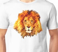 Low Poly Lion Unisex T-Shirt