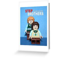 Lego Step Brothers Greeting Card