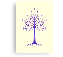 LOTR // TREE OF GONDOR // MINIMALIST POSTER Canvas Print