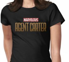 Marvelous Agent Carter Womens Fitted T-Shirt