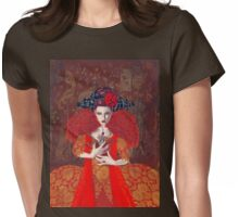 The Red Queen Womens Fitted T-Shirt