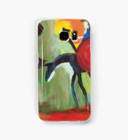 Don Quijote and the Windmill Samsung Galaxy Case/Skin