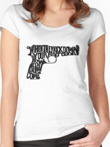 Guns of Brixton Women's Fitted Scoop T-Shirt