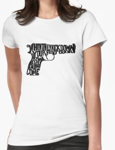 Guns of Brixton Womens Fitted T-Shirt