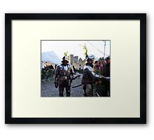 Knights in shining armour! Framed Print