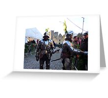 Knights in shining armour! Greeting Card