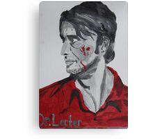 Dr. Lecter Psychopath Canvas Print