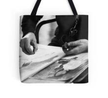 Street Artiste Tote Bag