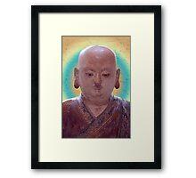 Buddhist Disciple Framed Print