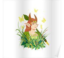 Enchantress Dota 2 Print Poster