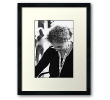 Artiste Framed Print