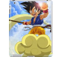 Goku at Magic Cloud iPad Case/Skin