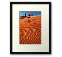 Yei-bi-Chei Sand Ripples Framed Print