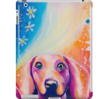 Cute Rainbow Dog iPad Case/Skin