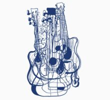 10 Guitars by Stuarty