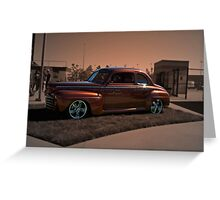 1946 Ford Coupe Greeting Card