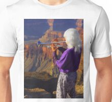 Trumpet Over the Grand Canyon Unisex T-Shirt