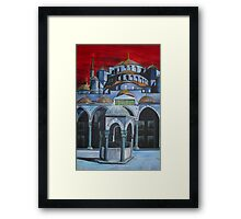 Sultan Ahmed Mosque, Istanbul Framed Print