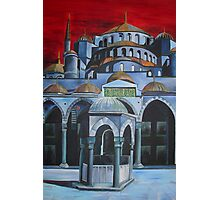 Sultan Ahmed Mosque, Istanbul Photographic Print