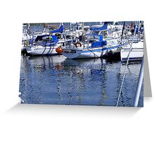 Annarchy - Caernarfon Harbour Greeting Card