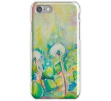 Dandelion Abstract Pastel  iPhone Case/Skin