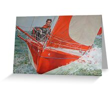 T-boat Greeting Card