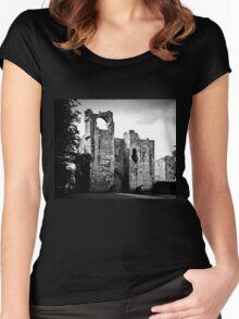 Etal Castle Women's Fitted Scoop T-Shirt