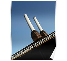 Battersea Power Station, London, England Poster