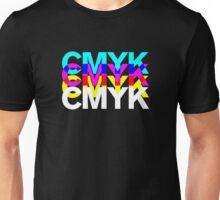 CMYK IN BLACK Unisex T-Shirt
