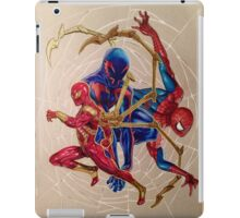 """Web of Spideys"" iPad Case/Skin"
